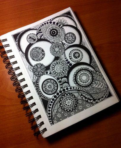 doodles tangles zendoodle art stuff
