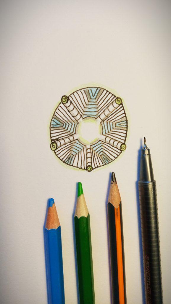 Naaki Tangle Pattern